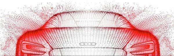 Salon de Francfort 2009 : le Concept électrique Audi e-tron