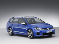 Los Angeles 2014 - Volkswagen présente la Golf R Variant (break) et ses 300 ch