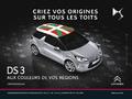 Citroën vous propose de personnaliser votre DS3 en fonction de votre région