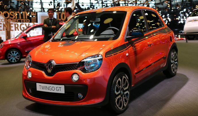 Renault Twingo GT : dynamique - Vidéo en direct du Mondial 2016