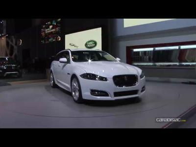 Salon de Genève : la Jaguar XF Sportbrake en vidéo