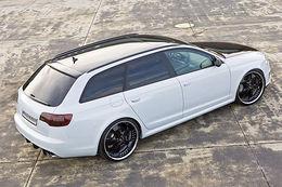Audi RS6 Kicherer : de la gueule, et des chevaux..