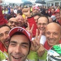 MotoGP - Danilo Petrucci : « je m'attendais à me réveiller dans mon lit ! »