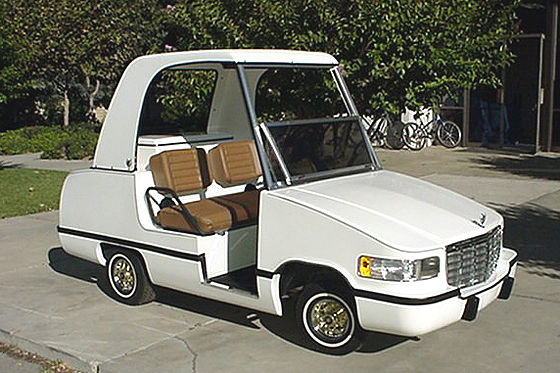 le tuning sur voiturette de golf il fallait oser. Black Bedroom Furniture Sets. Home Design Ideas
