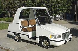 Le tuning sur voiturette de Golf : il fallait oser !!