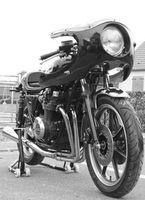 "Photo du jour : "" Mon Cafe Racer Kawasaki KZ750 """