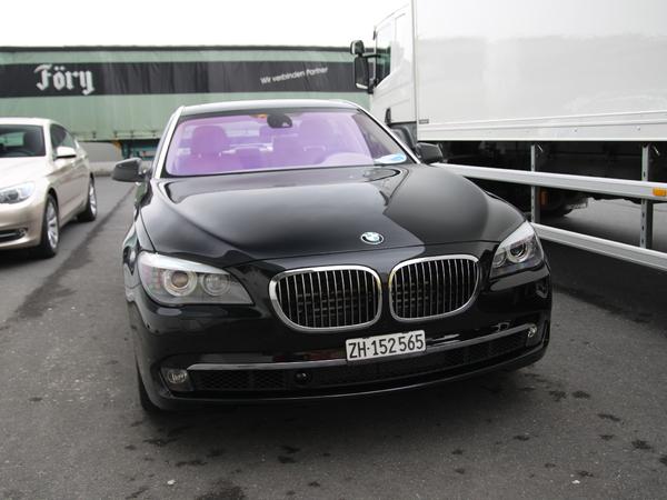 Photos du jour : BMW 760i