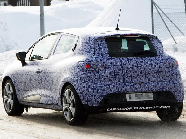 Renault Clio 4: encore des photos volées...