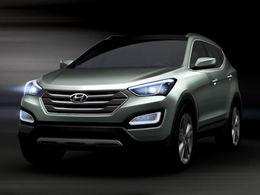 Salon de New York: le Hyundai Sante Fe en teasing