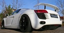 Cargraphic dote l'Audi R8 d'une suspension Airlift