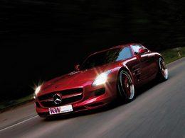 KW présente son système de suspensions pour la Mercedes SLS AMG