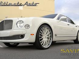 La Bentley Mulsanne montée en 24 pouces par Savini : ça commence à faire beaucoup
