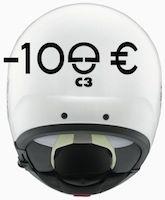 100 euros de remise pour l'achat d'un Schuberth C3