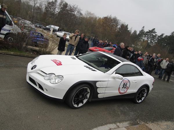 Photos du jour : Mercedes SL 600