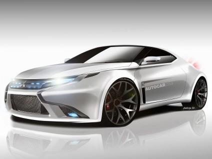 Future Mitsubishi Evo... hybride: 500 ch!