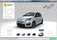 Pilotez la Renault Twingo RS ...