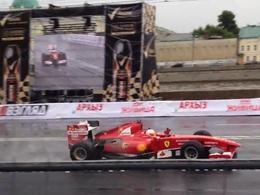 Kobayashi met une Ferrari F60 dans le mur à Moscou