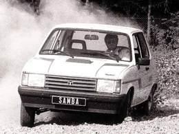 La p'tite sportive du lundi: Talbot Samba Rallye.