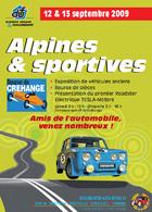 Bourse de Créhange 2009 : les véhicules anciens côtoient les véhicules électriques !