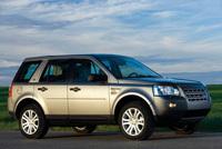 Land Rover Freelander 2 élu 4x4 de l'année 2007