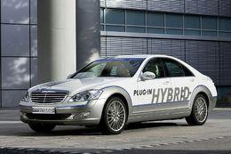 Salon de Francfort 2009 : le Concept Mercedes-Benz Vision S 500 Plug-in HYBRID