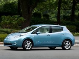 Le prix de vente de la Nissan Leaf électrique au Japon est...