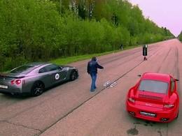 Nissan GT-R R850 VS Porsche R911, qui mettra une raclée à l'autre ?