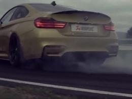 Vidéo : Akrapovic s'attaque à la BMW M4