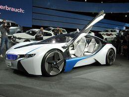 En direct du Salon de Francfort : le Concept hybride BMW Vision Efficient Dynamics