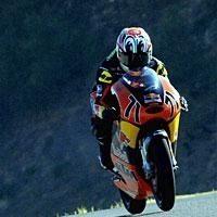 125 - 2008 : Neuf motos et l'Atlético de Madrid pour KTM