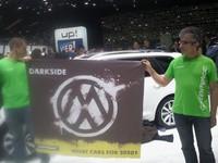 Genève 2012 : Greenpeace se fait remarquer sur le stand Volkswagen