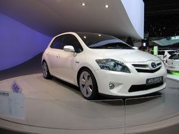En direct du Salon de Francfort : le Concept Toyota Auris HSD Full Hybrid