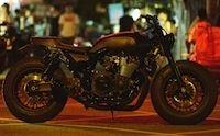 "Yamaha Yard Built: 1300 XJR ""Guerilla Four"" Rough Craft"