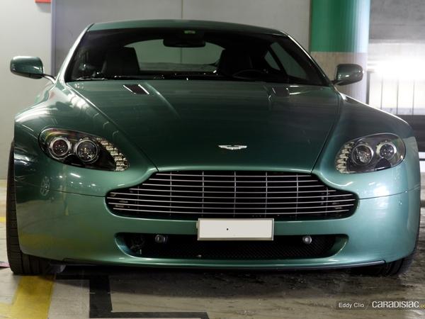 Photos du jour : Aston Martin V8 Vantage
