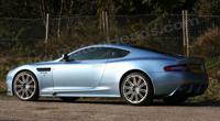 Aston Martin DBS sous le soleil