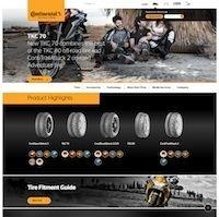 Continental: un nouveau site en ligne