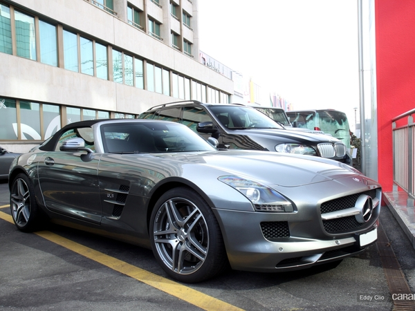 Photos du jour : Mercedes SLS AMG Roadster