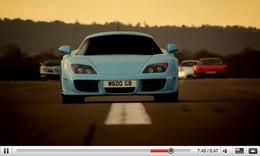 Réveil Auto - Top Gear : Noble M600, Jenson Button et des voitures dans un musée
