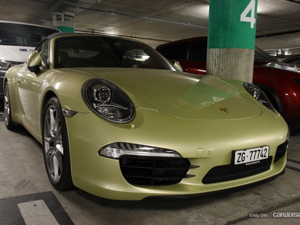 Photos du jour : Porsche 991 Carrera S Cabriolet