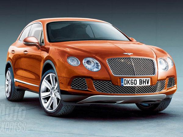 Le futur de Bentley: un crossover, une mini GT et un coupé 4 portes!