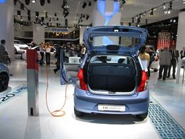 En direct du Salon de Francfort : la Hyundai i10 Electric