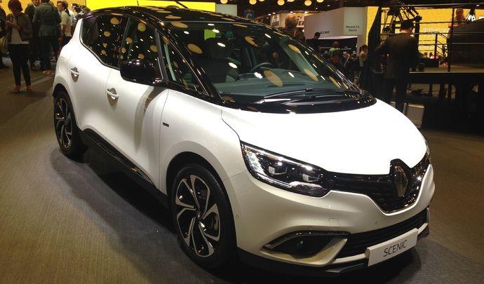 Renault Scénic : retour en grâce - Vidéo en direct du Mondial de l'auto 2016