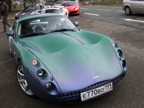 Photo du jour : TVR Tuscan S