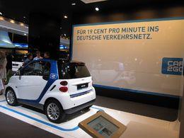 En direct du Salon de Francfort : le projet car2go, la location en libre-service de Smart Fortwo cdi