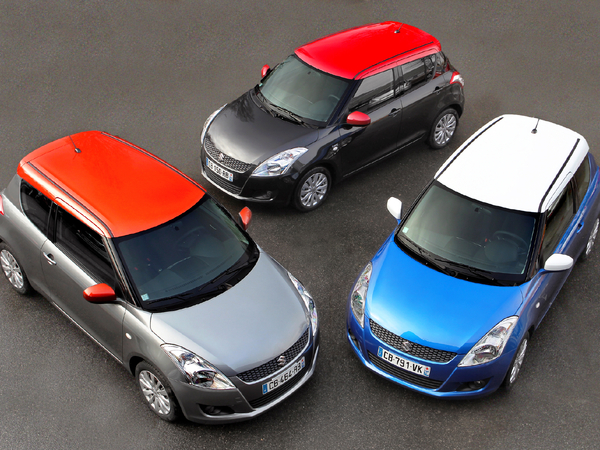 Suzuki Swift So' Color, série spéciale colorée