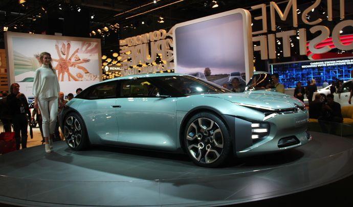 Citroën CXperience Concept : héritage - Vidéo en direct du Mondial de l'auto 2016