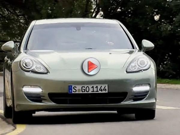 Genève 2011 : nouvelle vidéo de la Porsche Panamera S Hybrid
