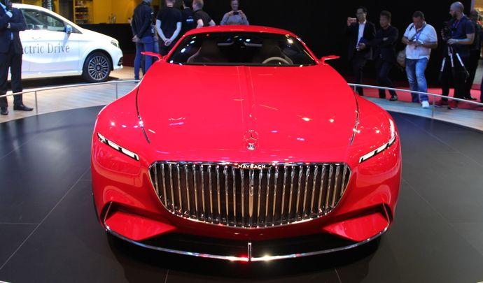 Vision Mercedes-Maybach 6: Kolossal! - Vidéo en direct du Mondial de l'auto 2016