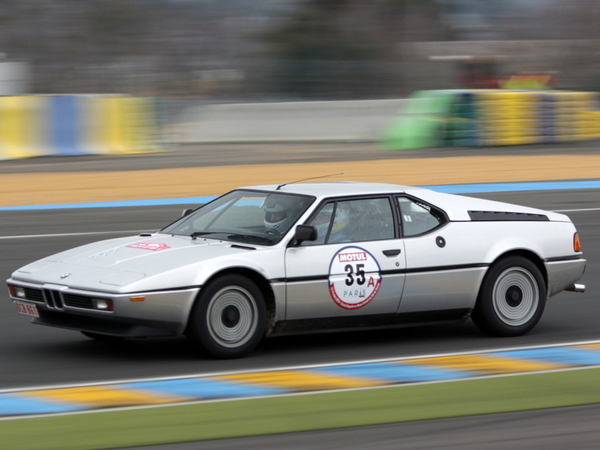 Photo du jour : BMW M1