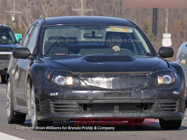 Spyshot : la Subaru FT-86 Coupé se planque toujours avant Genève